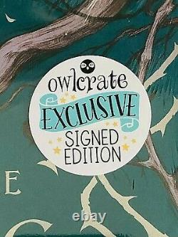 2 SIGNED King of Elfhame by HOLLY BLACK B&N and OWLCRATE 1st Editions BRAND NEW