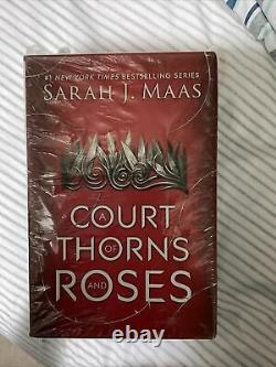 A Court of Thorns and Roses Series, Books 1-4 Hardcover Brand New Original Cover