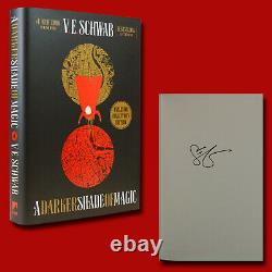 A Darker Shade Of Magic by V E Schwab (2017, HC, 1st/1st) SIGNED BRAND NEW