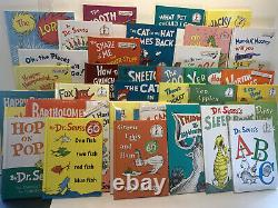 A Nearly Complete Giant Set of 52 Dr. Seuss Titles, Brand New, Hardcover Titles