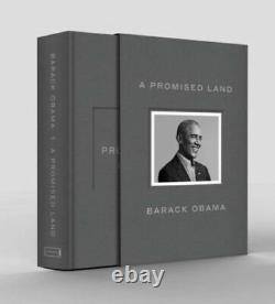 A Promised Land Deluxe Signed Edition Hardcover Brand New In Hand Barak Obama