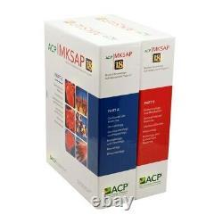 ACP MKSAP 18 Print Part A & B Plus Board Basics BRAND NEW ITEM SEALED IN BOX
