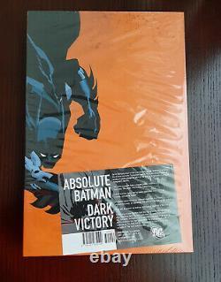 Absolute Batman Dark Victory OOP Brand New, Sealed