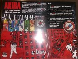 Akira 35th Anniversary Box Set by Katsuhiro Otomo Brand New