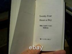 Alcoholics Anonymous Related RARE! BRAND NEW! 50TH ANNIVERS 24-HOURS-A-DAY +CASE