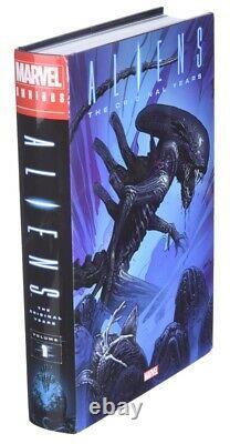 Aliens The Original Years Omnibus Vol 1 Marvel 2021 BRAND NEW SEALED COMIC BOOK
