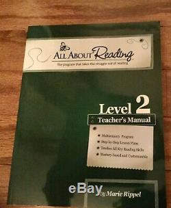 All About Reading Level2 Full Set (Brand New) with Letter Tiles