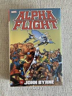 Alpha Flight Omnibus Marvel John Byrne Brand New Sealed DC