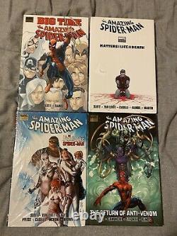 Amazing Spider-Man Hardcover Lot Dan Slott Big Time Brand New Sealed