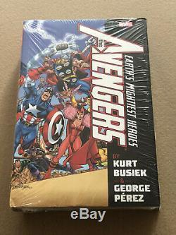 Avengers by Busiek Perez Vol 1 Omnibus Brand New Sealed OOP Hardcover HC