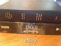 BRAND NEW! Dake's Annotated Reference Bible LARGE PRINT Leather