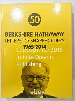 BRAND NEW HARDCOVER Berkshire Hathaway Letters to Shareholders Warren Buffett