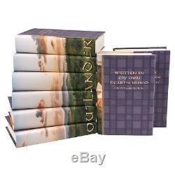 BRAND NEW OUTLANDER SERIES RARE Hardcover Luxury Gift Set Diana Gabaldon 8 books