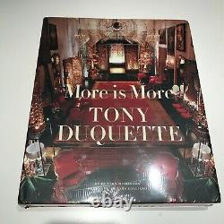 BRAND NEW (SEALED)! More Is More Tony Duquette by Hutton Wilkinson (Hardcover)