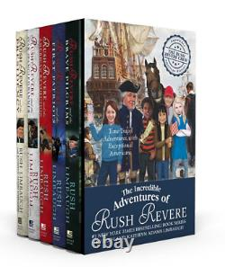 BRAND NEW The Incredible Adventures of RUSH REVERE Complete 5-Book Box Set