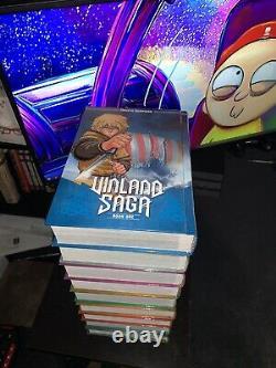 BRAND NEW Vinland Saga Set (Lot 1-9) English Hardcover Edition