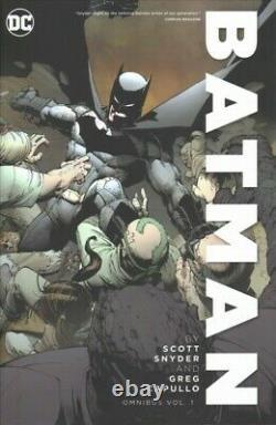 Batman Omnibus 1, Hardcover by Snyder, Scott Capullo, Greg (ILT), Brand New