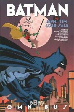 Batman Omnibus, Hardcover by Loeb, Jeph Sale, Tim, Brand New, Free P&P in th