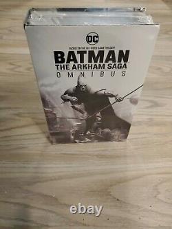 Batman The Arkham Saga Omnibus by Paul Dini BRAND NEW in plastic