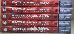 Battle Angel Alita Deluxe Edition 1-5 Hardcover GN Manga Brand New KC English