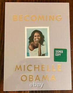 Becoming Deluxe Signed Edition Michelle Obama (2019, Brand New, Sealed Hc)
