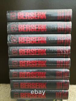 Berserk Deluxe Edition English Manga Vol 1-8 Brand New SEALED