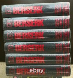 Berserk Hardcover Deluxe Edition English Manga Vol 1-6 Brand New Sealed