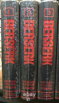 Berserk Hardcover Deluxe Edition Vol 1-3 BRAND NEW SEALED English Dark Horse 15