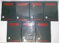 Berserk Hardcover Deluxe Edition Vol. 1-7 BRAND NEW SEALED English Dark Horse
