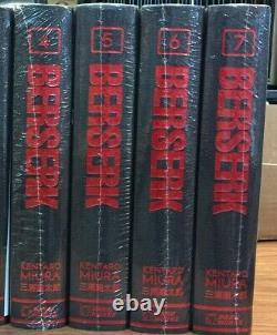Berserk Hardcover Deluxe Edition Vol. 4-7 BRAND NEW SEALED English Dark Horse 15
