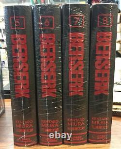 Berserk Hardcover Deluxe Edition Vol. 5-8 BRAND NEW English15