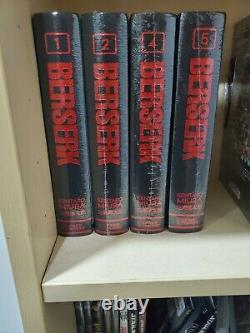 Berserk Hardcover Deluxe Edition Volumes 1,2,4,5 BRAND NEW SEALED! English
