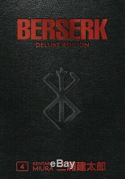 Berserk Hardcover Deluxe Edition Volumes 1-4 BRAND NEW SEALED! English