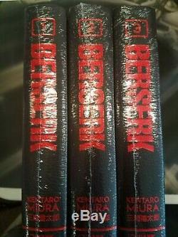 Berserk Hardcover Deluxe Edition Volumes 1-4 BRAND NEW SEALED English Dark Horse