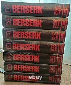 Berserk Manga Hardback Deluxe Edition Volumes 1 7 Brand New And Sealed