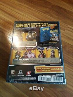 Borderlands 2 Game Of The Year Hardcover Strategy Guide Brand New Sealed