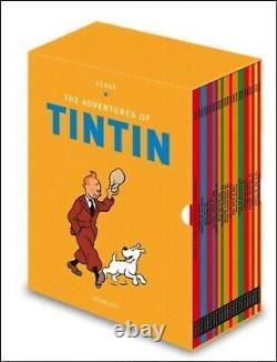 Brand New Box Set The Adventures of Tintin Boxset 23 Books by Herge