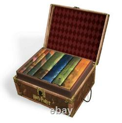 Brand New Harry Potter Hard Cover Boxed Set Books #1-7 Fast Ship