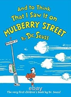 Brand New In The Box Six By Seuss Contains Banned Title Mulberry Street