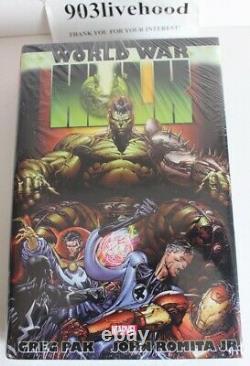 Brand New Marvel Planet Hulk (nm) & World War Hulk (vf+++) Omnibus Hc Hardcover