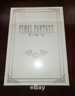 Brand New Sealed Final Fantasy Box Set 1 Collectors Edition Guide VII VIII IX