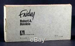 Brand New Signed Robert A Heinlein Limited Edition 1982 Friday Lettered Copy
