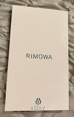 Brand New in box Rimowa Aluminum Groove Case for iPhone 11 Pro Max Authentic