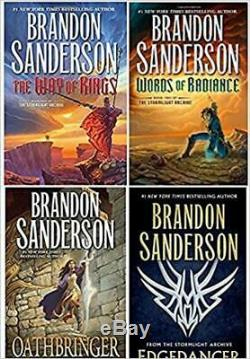 Brandon Sanderson Stormlight Archive 4 HARDCOVER BOOK SET BRAND NEW