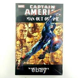 Captain America Man Out of Time, Waid, Mark, Sealed Brand New HARDCOVER Book