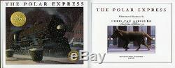 Chris Van Allsburg SIGNED AUTOGRAPHED The Polar Express HC 1st Ed BRAND NEW