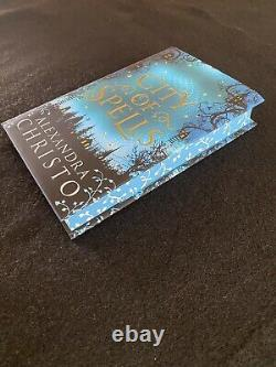 City of Spells Fairyloot Edition Brand New Hardcover Unread Sprayed Edges