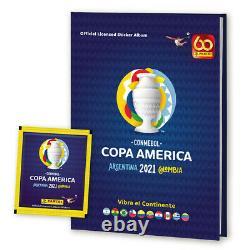 Copa América 2021 Panini Stickers Full Album Complete unstick Brand new