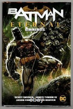 DC BATMAN ETERNAL OMNIBUS HARDCOVER OOP HTF Scott Snyder Brand New Still Sealed
