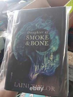 Daughter of Smoke and Bone Signed Illumicrate Exclusive Edition Brand New Sealed